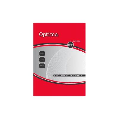 Etikett OPTIMA 32121 25,4x10mm 18900 címke/doboz 100 ív/doboz